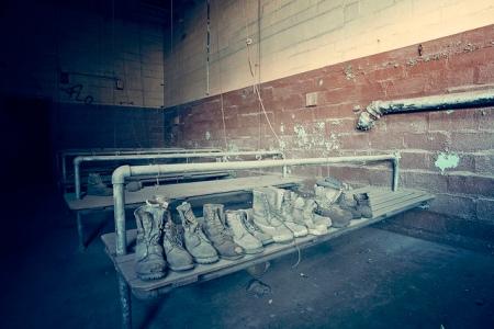 Abandoned Manahoy City Coal Breaker St Nicks